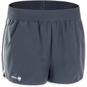ARTENGO Shorts Soft Tennishose Damen grau, Größe: S