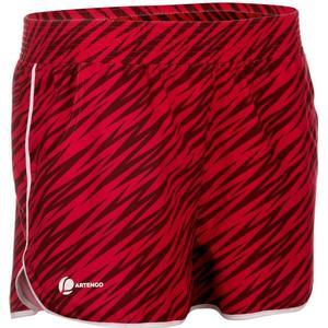 ARTENGO Shorts Soft Tennishose Damen Print rosa, Größe: XS