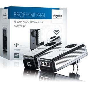 Devolo dLAN pro 500 Wireless+ Starter Kit Powerline 500Mbps