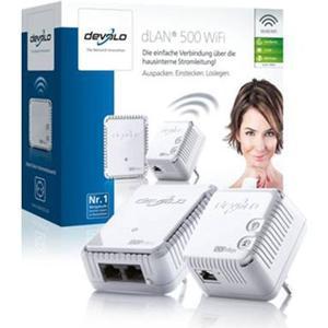 Devolo dLAN 500 WiFi Starter Kit Powerline 500Mbps