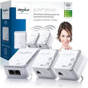 Devolo dLAN 500 WiFi Network Kit Powerline 500Mbps