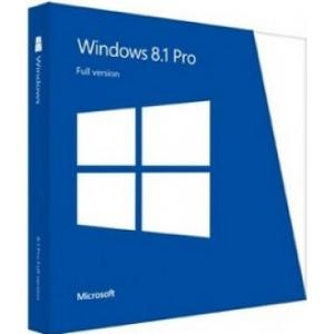 Microsoft Windows 8.1 Pro - 32-bit/64-bit (OEM)