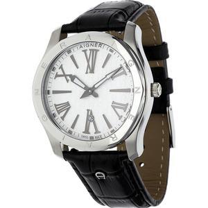 Aigner Herren Armbanduhr Lazio Schwarz A42122