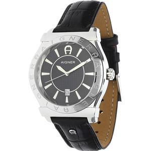 Aigner Herren Armbanduhr Bolzano Schwarz A24115