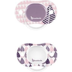 Babies ´R´ Us Badabulle – Schnuller Silikon 2er Pack Girls, Gr. 2