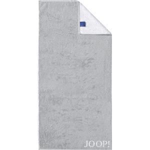 JOOP! Handtücher Classic Doubleface Handtuch Silber 50 x 100 cm 1 Stk.
