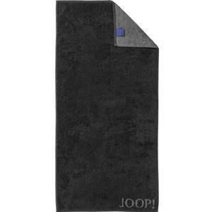 JOOP! Handtücher Classic Doubleface Duschtuch Schwarz 80 x 150 cm 1 Stk.