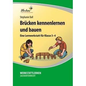 Lernbiene Verlag GmbH Brücken kennenlernen und bauen (CD-ROM)