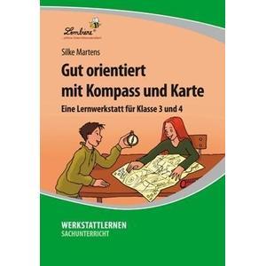 Lernbiene Verlag GmbH Gut orientiert mit Kompass und Karte (CD-ROM)