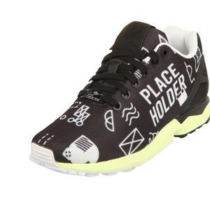 adidas Herren Sneakers ZX FLUX Schwarz/Weiß EBB34487