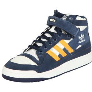 adidas Herren Sneakers FORUM MID RS Dunkelblau/Weiß/Orange EBV24712