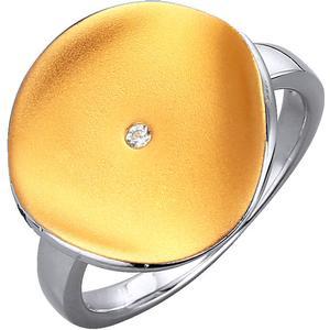 Damenringe (W) Damenring vergoldet Yvette Ries Bicolor
