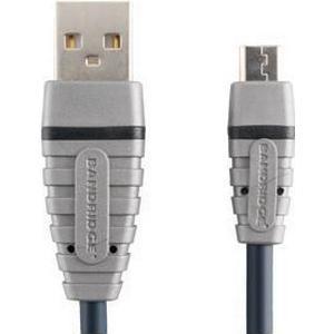 Bandridge USB Micro-B Kabel 1.0 m - Bandridge