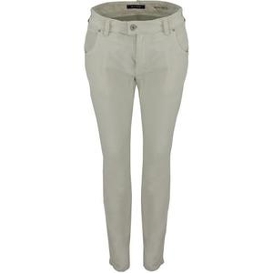 MARC OPOLO cropped Cordhose Slim Fit beige