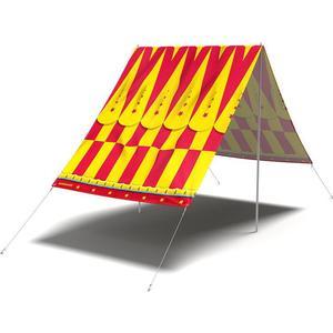 Cirque Du Sol - Sonnensegel - FieldCandy (SS.CDS.Y)