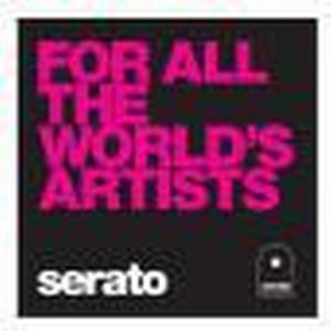 Serato Manifesto, 10` Control Vinyls schwarz, For All The Worlds
