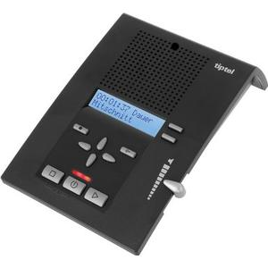 333 Profi-Anrufbeantworter Rufnummernanzeige Nachrichtenweitermeldung (Schwarz) (Versandkostenfrei)