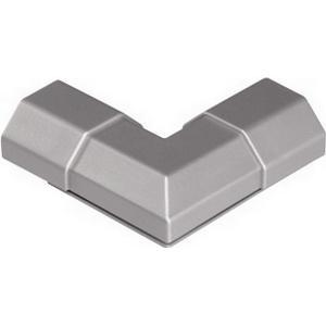 00095895 Verbindungsstück ´´L´´-Form für Alu-Kabelkanal eckig 50 mm (Silber)
