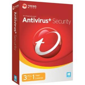 Trend Micro Antivirus + Security 2017 - 3 PC / 1 år