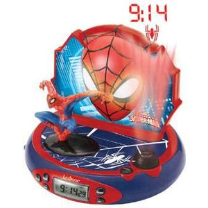 Spider-Man Radiowecker mit Projektion