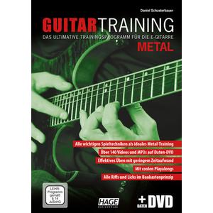 Hage Musikverlag Guitar Training Metal