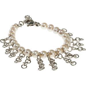 25 Pieces Perlen-Armband mit Silberketten