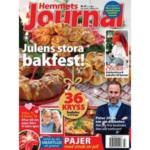 Tidningen Hemmets Journal 52 nummer