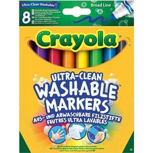 BBM Crayola – Einfach auswaschbare Filzstifte, 8-tlg.
