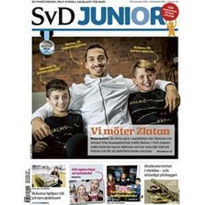 Tidningen SvD Junior 10 nummer