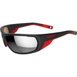 WED´ZE Sonnenbrille Sportbrille Iwate Kat. 4 schwarz/rot