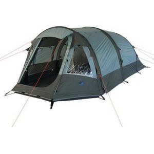 10T Camping-Zelt Neptun 3 aufblasbares AirTube Tunnelzelt mit Schlafkabine für 3 Personen Outdoor Familienzelt mit Vorraum, eingenähte Bodenwanne, wasserdicht mit 5000mm Wassersäule inkl. Pumpe