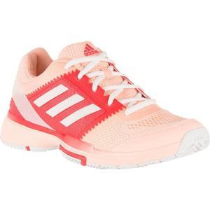ADIDAS Tennisschuhe Barricade Club Multicourt Damen weiß/rosa, Größe: 42