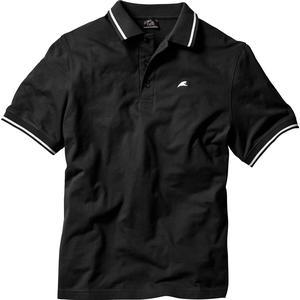 bpc bonprix collection Poloshirt, Kurzarm in schwarz für Herren von bonprix
