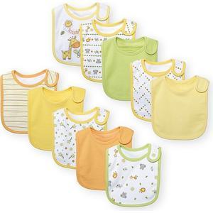 Babies ´R´ Us Babies R us – 10er Pack Lätzchen gelb/orange/grün