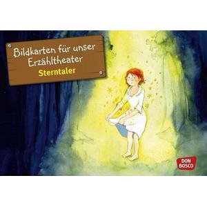Don Bosco Bildkarten für unser Erzähltheater: Sterntaler