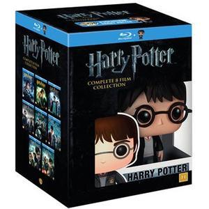 Harry Potter 1-8 Box + Funko doll (8Blu-ray) (Blu-Ray 2015)