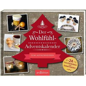 arsedition Der Wohlfühl-Adventskalender / Kalender