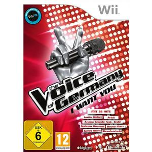 Bigben The Voice of Germany, I want you, 1 Nintendo-Wii-Spiel