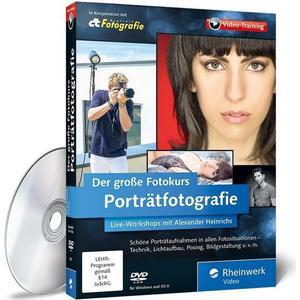Rheinwerk Verlag Der große Fotokurs: Porträtfotografie