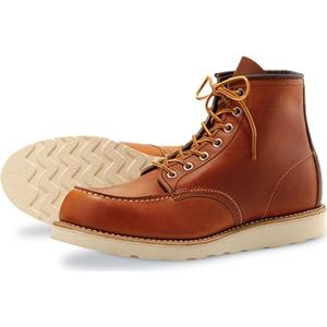 Red Wing Shoes Style no 875 EE 6´´ Classic Moc Toe - Oro Legacy Leather , Red Wing