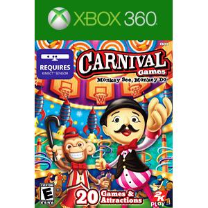 2k Games Carnival games Monkey see monkey do