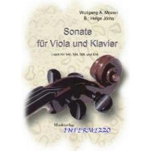 INTERMEZZO Sonate für Viola und Klavier