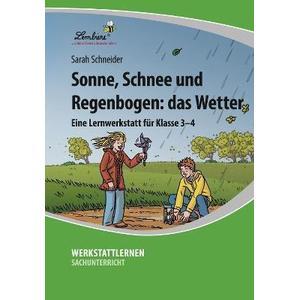 Lernbiene Verlag GmbH Sonne, Schnee und Regenbogen: das Wetter (CD-ROM)