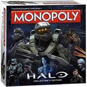 Winning Moves Ltd Monopoly: Halo Collectors Edition
