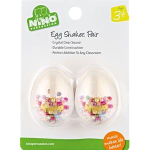 Nino Egg Shaker Transparent