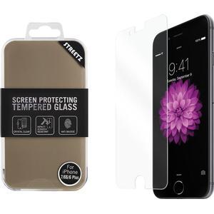 STREETZ Härdat glas för iPhone 7/6S/6 Plus