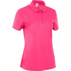 ARTENGO Poloshirt Essentiel 100 Tennispolo Damen rosa, Größe: EU: 36 DE: 34