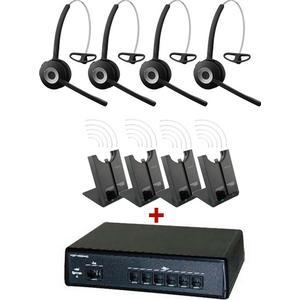4.70 Miniligateam 6 + 4 Headsets Jabra PRO 920