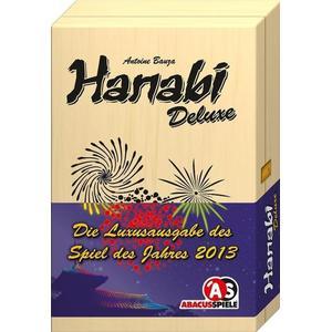 Albertine Ralenti Abacus ABA04134 - Hanabi Deluxe, Familienspiel