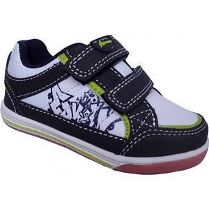 American Club Jungen Sneaker Erste Schuhe Babyschuhe Navy Weiß